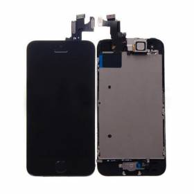 Lcd + Touch Screen + Lens Apple Iphone 5s/ SE - Negro