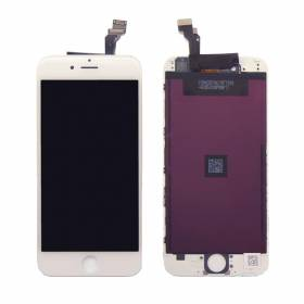 Lcd + Touch Screen + Lens Apple Iphone 6 Blanco