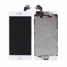 Lcd + Touch Screen + Lens Apple Iphone 6 Plus Blanco