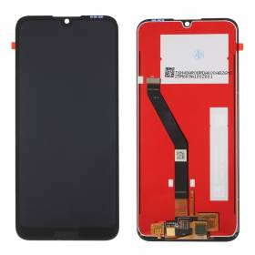 Lcd + Touch Screen + Lens Huawei Y6 2019 Negro C/M